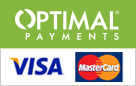powered by optimal payments visa mc